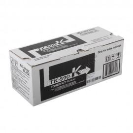 TK-590K оригинальный лазерный тонер картридж Kyocera черный, ресурс - 7000 страниц