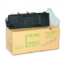 TK-60 оригинальный лазерный тонер картридж Kyocera черный, ресурс - 20000 страниц