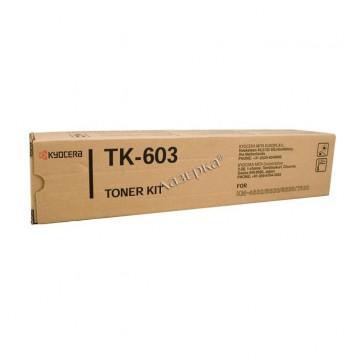 Kyocera TK-603 | 370AE010 оригинальный тонер картридж - черный, 30000 стр