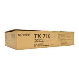 TK-710 оригинальный лазерный тонер картридж Kyocera черный, ресурс - 40000 страниц