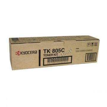 Kyocera TK-805C | 370AL510 оригинальный тонер картридж - голубой, 10000 стр
