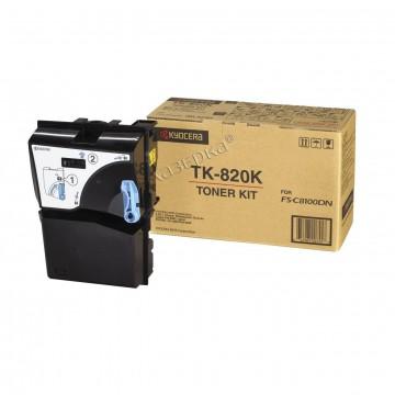 Kyocera TK-820K | 1T02HP0EU0 оригинальный тонер картридж - черный, 15000 стр