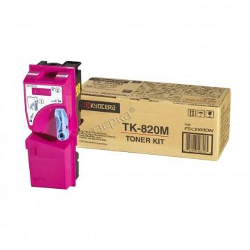 Kyocera TK-820M | 1T02HPBEU0 оригинальный тонер картридж - пурпурный , 7000 стр
