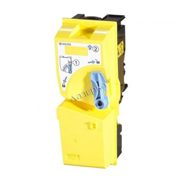 Kyocera TK-820Y | 1T02HPAEU0 оригинальный тонер картридж - желтый , 7000 стр