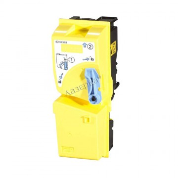 Kyocera TK-825Y | 1T02FZAEU0 оригинальный тонер картридж - желтый, 7000 стр