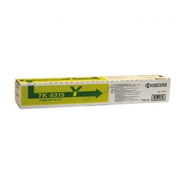 Kyocera TK-8315Y | 1T02MVANL0 оригинальный тонер картридж - желтый, 6000 стр