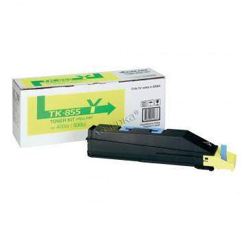 Kyocera TK-855Y | 1T02H7AEU0 оригинальный тонер картридж - желтый , 18000 стр