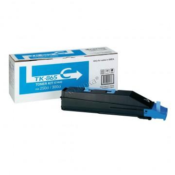 Kyocera TK-865C | 1T02JZCEU0 оригинальный тонер картридж - голубой , 12000 стр