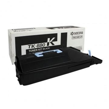 Kyocera TK-880K | 1T02KA0NL0 оригинальный тонер картридж - черный, 25000 стр