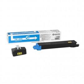 TK-895C оригинальный лазерный тонер картридж Kyocera голубой, ресурс - 6000 страниц