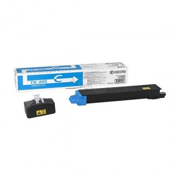 Kyocera TK-895C | 1T02K0CNL0 оригинальный тонер картридж - голубой , 6000 стр