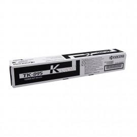 TK-895K оригинальный лазерный тонер картридж Kyocera черный, ресурс - 12000 страниц