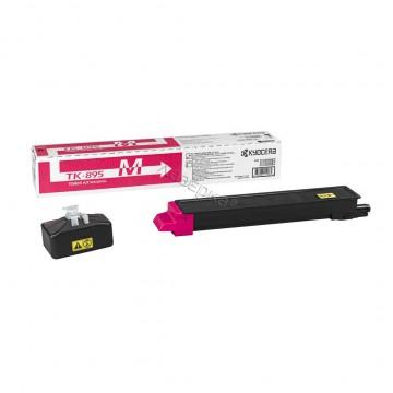 Kyocera TK-895M | 1T02K0BNL0 оригинальный тонер картридж - пурпурный , 6000 стр