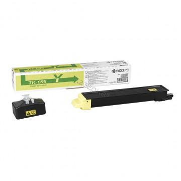 Kyocera TK-895Y | 1T02K0ANL0 оригинальный тонер картридж - желтый , 6000 стр