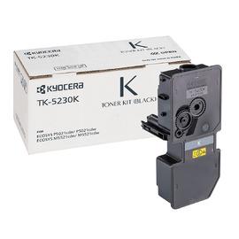TK-5230K оригинальный лазерный тонер картридж Kyocera черный, ресурс - 2600 страниц