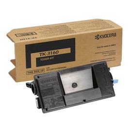 TK-3160 оригинальный лазерный тонер картридж Kyocera черный, ресурс - 12500 страниц