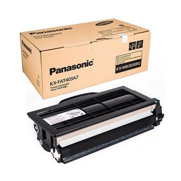 Panasonic KX-FAT403A оригинальный тонер картридж - черный, 8000 стр