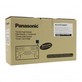 KX FAT430A7 оригинальный лазерный тонер картридж Panasonic черный, ресурс - 3000 страниц