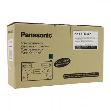 Panasonic KX-FAT430A оригинальный тонер картридж - черный, 3000 стр