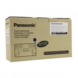 KX FAT431A7 оригинальный лазерный тонер картридж Panasonic черный, ресурс - 6000 страниц