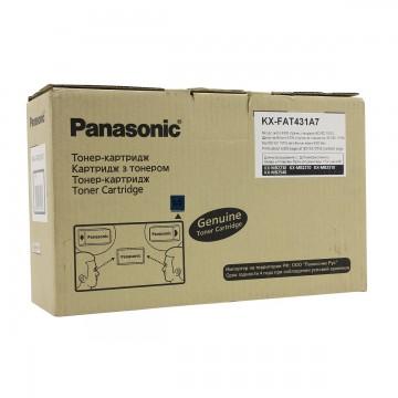 Panasonic KX-FAT431A оригинальный тонер картридж - черный, 6000 стр