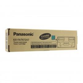 KX FAT472A7 оригинальный лазерный тонер картридж Panasonic черный, ресурс - 2000 страниц