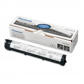 KX FA76A7 оригинальный лазерный тонер картридж Panasonic черный, ресурс - 2000 страниц