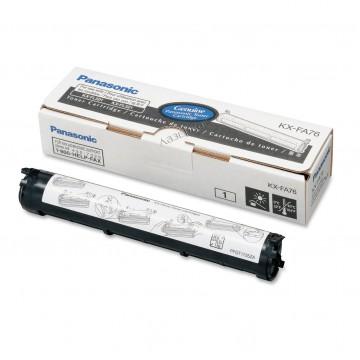 Panasonic KX-FA76A оригинальный тонер картридж - черный, 2000 стр