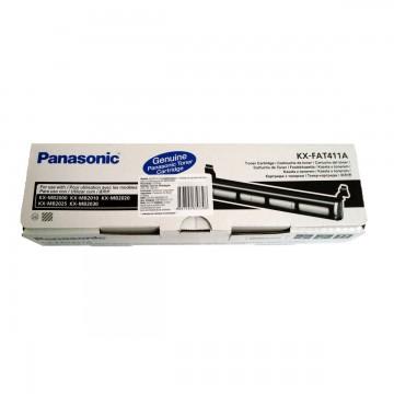 KX FAT411A7 оригинальный лазерный тонер картридж Panasonic черный, ресурс - 2000 страниц