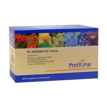 CE252A / 723 Yellow совместимый картридж Profiline (PL) жёлтый