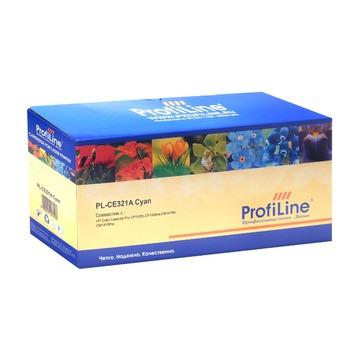 ProfiLine 128A Cyan | CE321A совместимый лазерный картридж, 1300 стр., голубой