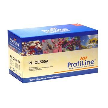 ProfiLine PL_CE505A/719 совместимый лазерный картридж 05A Black   CE505A - черный, 2300 стр