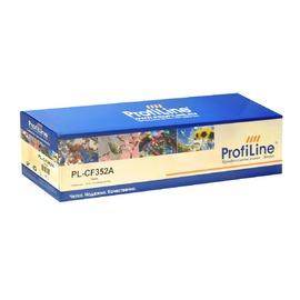 Profiline PL-CF352A совместимый картридж, CF352A желтый 1000 страниц