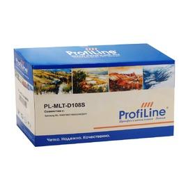 ProfiLine MLT-D108S Black | SU785A совместимый лазерный картридж, 1500 стр., черный