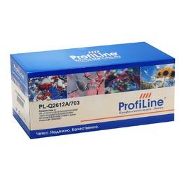 Profiline PL-Q2612A/703 совместимый картридж, Q2612A черный 2000 страниц
