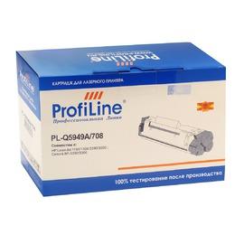 ProfiLine 49A Black | Q5949A совместимый лазерный картридж, 2500 стр., черный