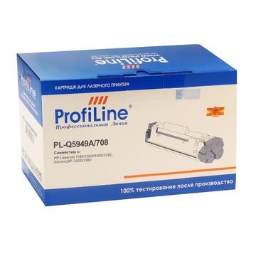 ProfiLine PL_Q5949A/708 совместимый лазерный картридж 49A Black | Q5949A - черный, 2500 стр