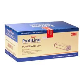 Profiline PL-Q6001A/707 Cyan совместимый картридж, аналог HP Q6001A голубой 2000 страниц