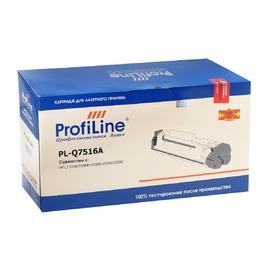 Profiline PL-Q7516A совместимый картридж, аналог HP Q7516A черный 12000 страниц