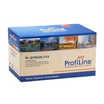 ProfiLine PL_Q7553A совместимый лазерный картридж 53A Black | Q7553A - черный, 3000 стр