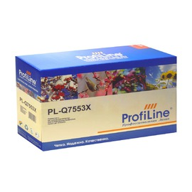 Profiline PL-Q7553X/715 совместимый картридж, аналог HP Q7553X черный 7000 страниц