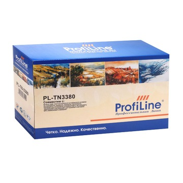 ProfiLine PL_TN-3380 совместимый тонер картридж TN-3380 - черный, 8000 стр
