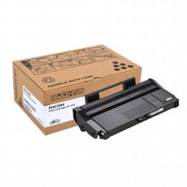 SP 101E Black | 407059 тонер картридж Ricoh, 2000 стр., черный