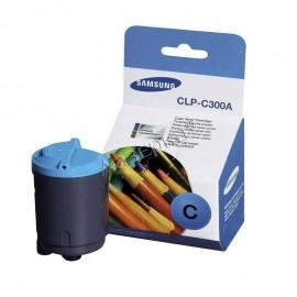 Samsung CLP-C300A Оригинальный лазерный картридж, ресурс - 1000 стр., голубой