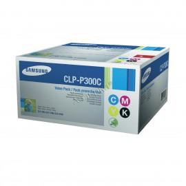CLP-P300C оригинальный лазерный картридж Samsung, ресурс - 1000 страниц, картридж,