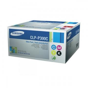 Samsung CLP-P300C Multipack | SV359A оригинальный тонер картридж - набор цветной + черный, 4 x 1000 стр