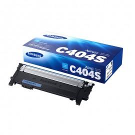 CLT-C404S оригинальный лазерный картридж Samsung, ресурс - 1000 страниц, голубой