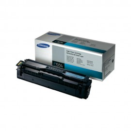 Samsung CLT-C504S Оригинальный лазерный картридж, ресурс - 1800 стр., голубой
