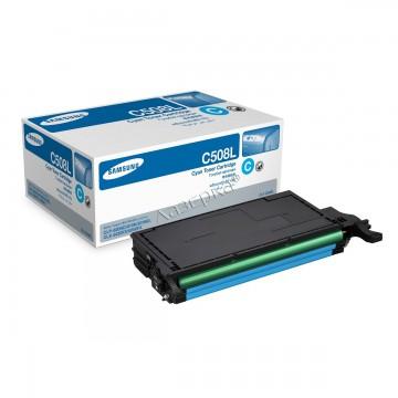 Samsung CLT-C508L | SU058A оригинальный тонер картридж - голубой, 4000 стр