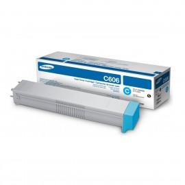Samsung CLT-C606S Оригинальный лазерный картридж, ресурс - 20000 стр., голубой